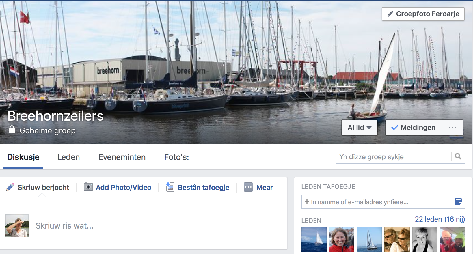 FB-pagina